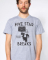FIVE STAR BREAKS TEE