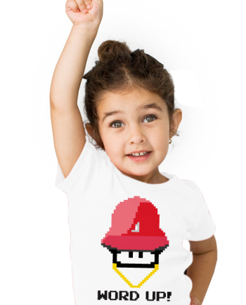 KIDS WORD UP TEE