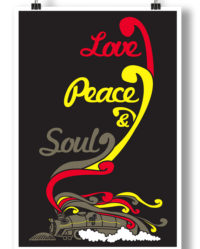 love-peace-soul-poster